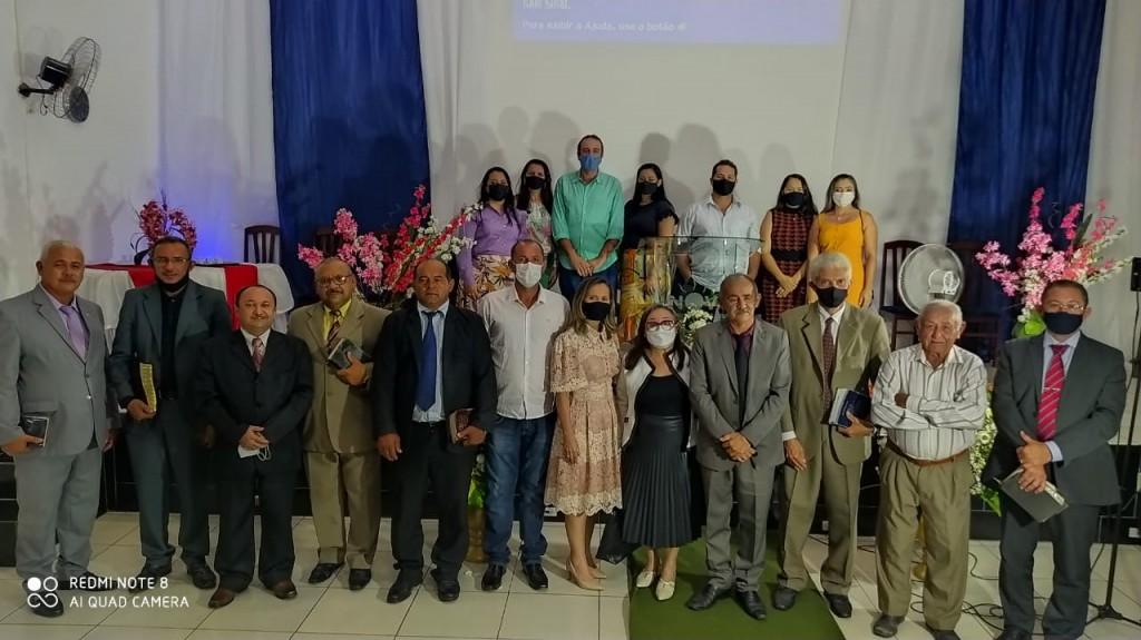 Prefeitura em união com as igrejas Evangélicas de Araçagi realizam culto em Ação de Graças pelos 62 anos de emancipação